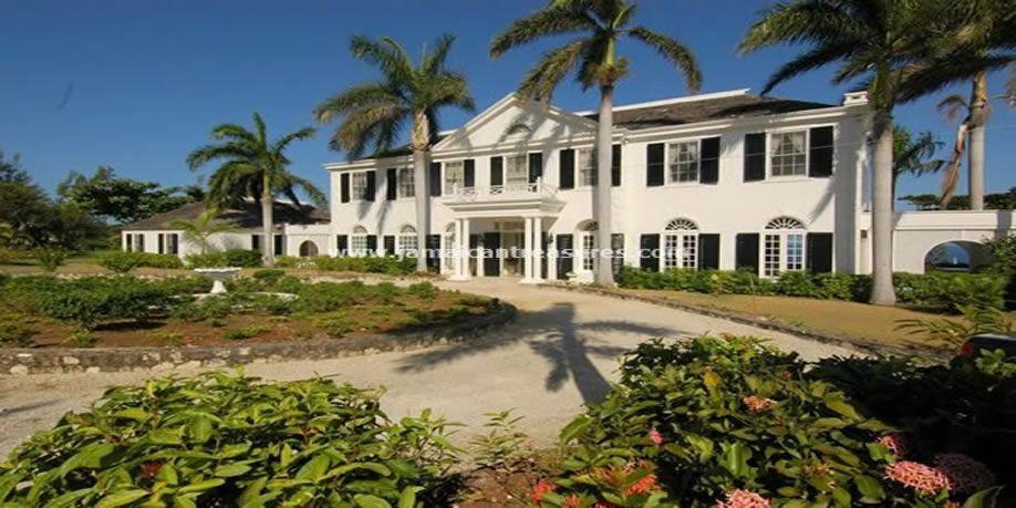 Jamaica Mansion Montego Bay Villa At Springfarm Montego