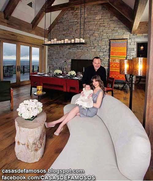 La casa de thalia casas de famosos home decor celebrity pictures furniture - Ver casas decoradas por dentro ...
