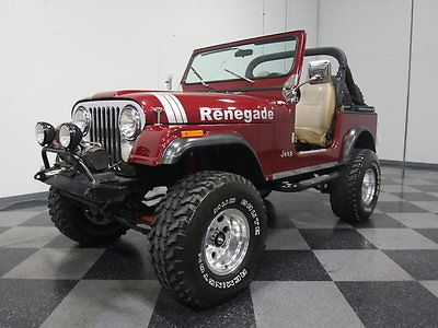 Ebay 1982 Jeep Cj Base Sport Utility 2 Door Well Built Lifted