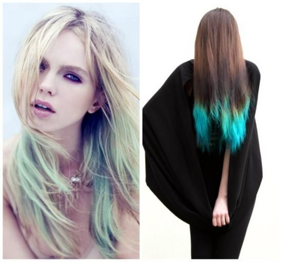 Dip Dyed And Dreamy The Design Confidential Dipped Hair Long Hair Styles Fashion Collection Inspiration