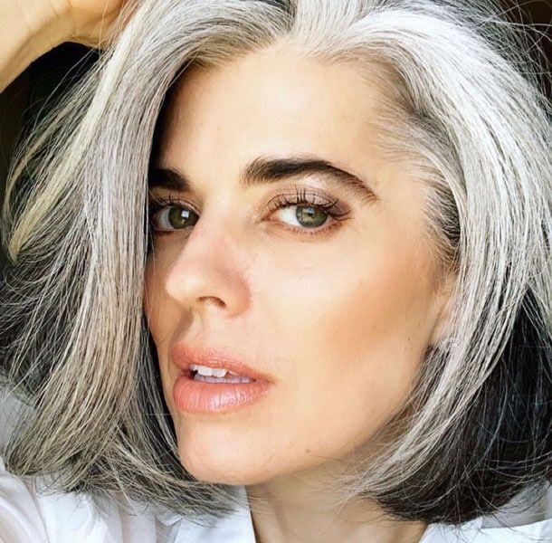 Got Gray Hair? Here's How to Make Your Eyebrows Look Their Best
