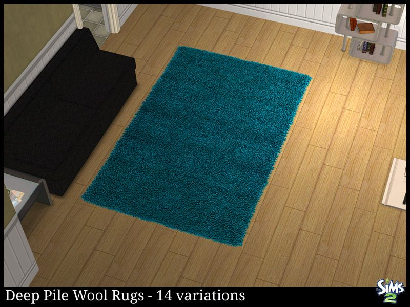 Deep Pile Wool Rugs   Rugs   Sims 2 Downloads   Sims 2 Downloads, Badezimmer