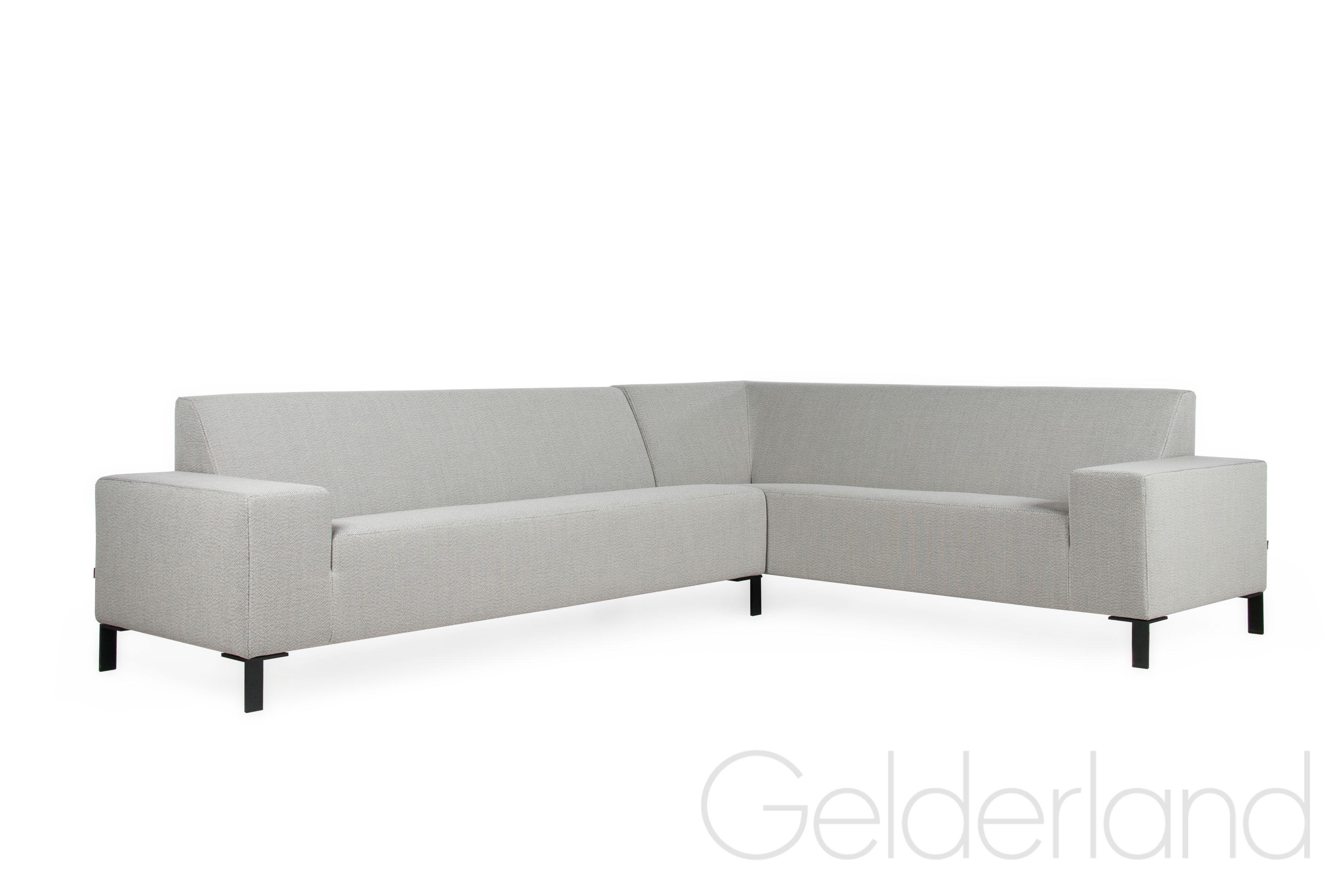 Welp Gelderland hoekbank 6511 design Jan des Bouvrie met zwarte poten XV-21