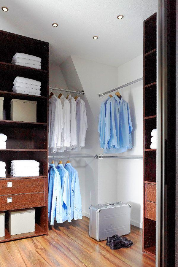 Kleiderstange Dachschräge: Eine nachträgliche Keiderstange für die ...