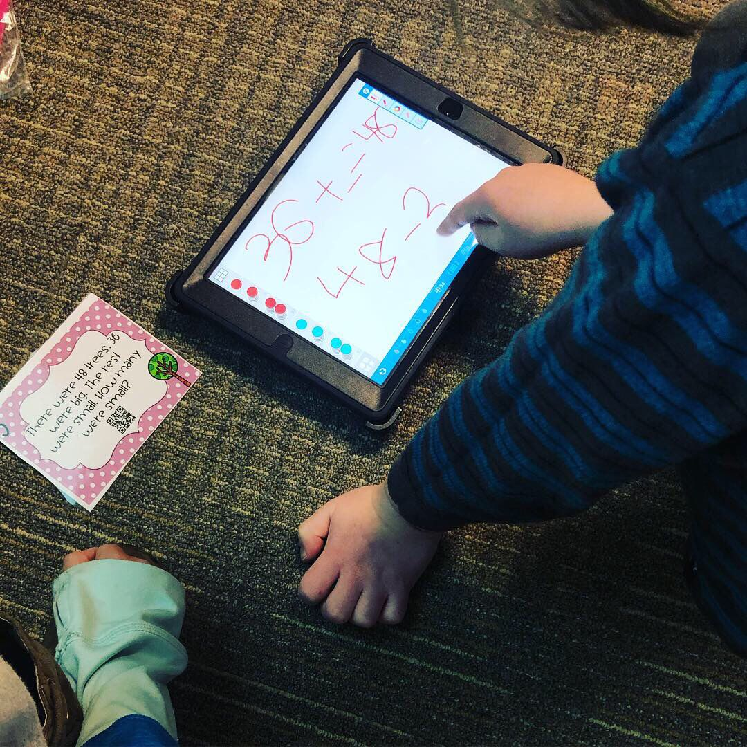 Differentiated Addition And Subtraction Task Cards With Qr