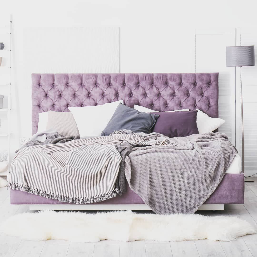 37 Purple And White Bedroom Ideas With Pictures White Bedroom