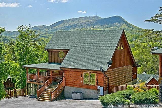 Lumberjack Rack Alpine Mountain Chalets Perfect Family Vacation Cabin Gatlinburg Cabins