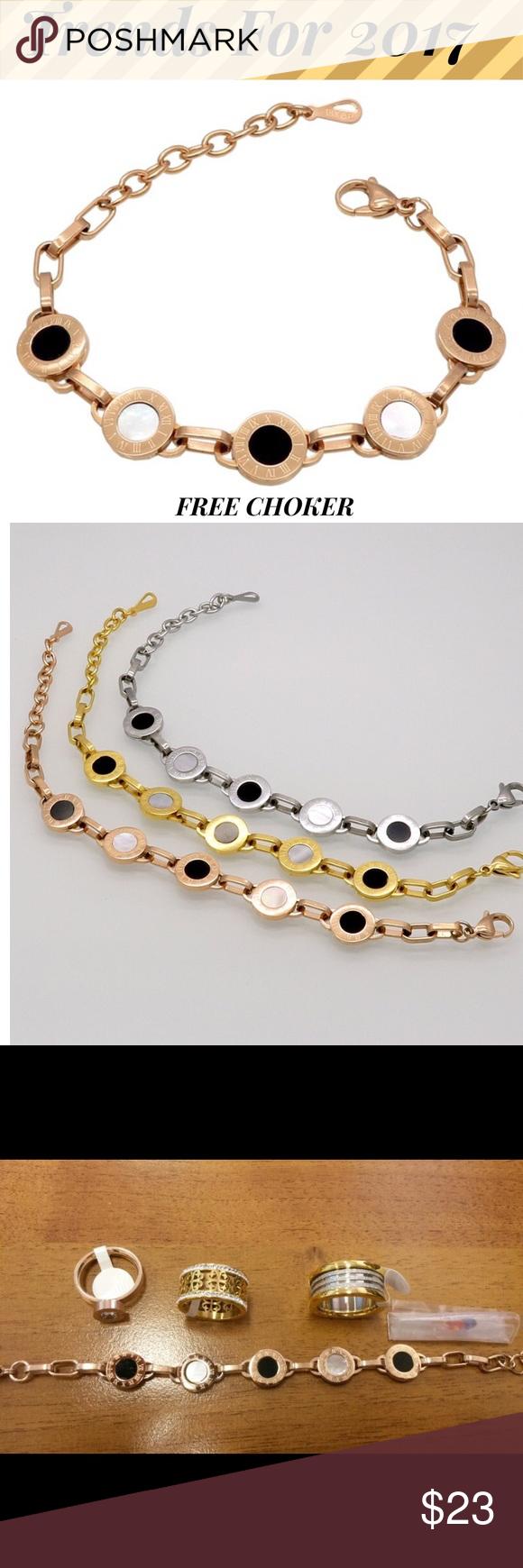 Days sale rose gold shell bracelet women men gorgeous bracelet for