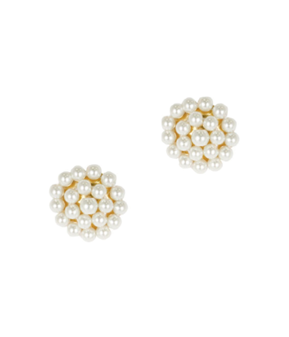 Pearl button studs.