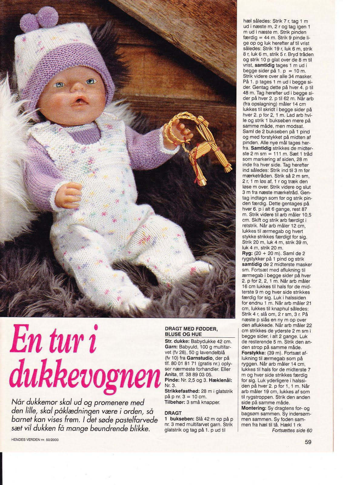 Albumarkiv | patrones para vestiditos para muñeas | Pinterest ...