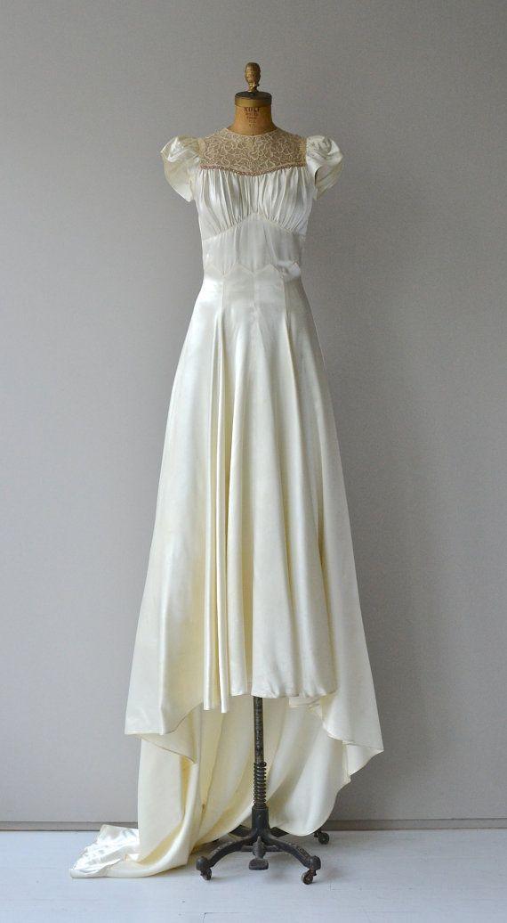 Vintage 1930s Wedding Gowns Wedding Gown 1930s Wedding Dress Vintage By Deargolden Gowns 19 Wedding Dresses Vintage Wedding Gowns Vintage 1930s Wedding Dress