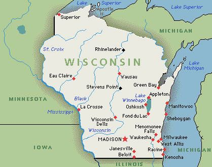 Womans Ex Headed For Trial Under New Revenge Porn Law Wisconsin - Maps of wisconsin