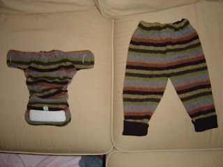 On Your Own, For Your Own: Diaper Your Own - Recycled wool sweater covers for cloth diapers