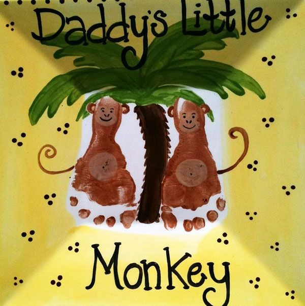 Открытка с обезьяной | творчество | Pinterest | Letter crafts, Craft ...