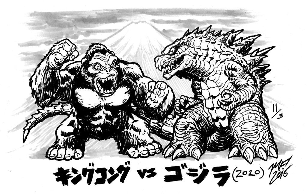 Happy Godzilla Day - King Kong vs. Godzilla 2020 by ...