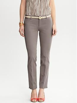Sloan fit slim ankle pant | Banana Republic. These paired with flat or heeled oxfords.  A great opportunity to show off sleek socks, or bare ankles cause you're a boss like that.