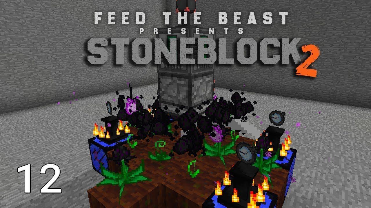 FTB Stoneblock 2 Insane EMC Farm Automation | SystemCollapse