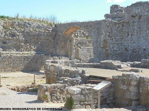 Sabia que...o aqueduto de Conimbriga foi uma das primeiras e principais obras da cidade com o intuito de fornecer as Termas?