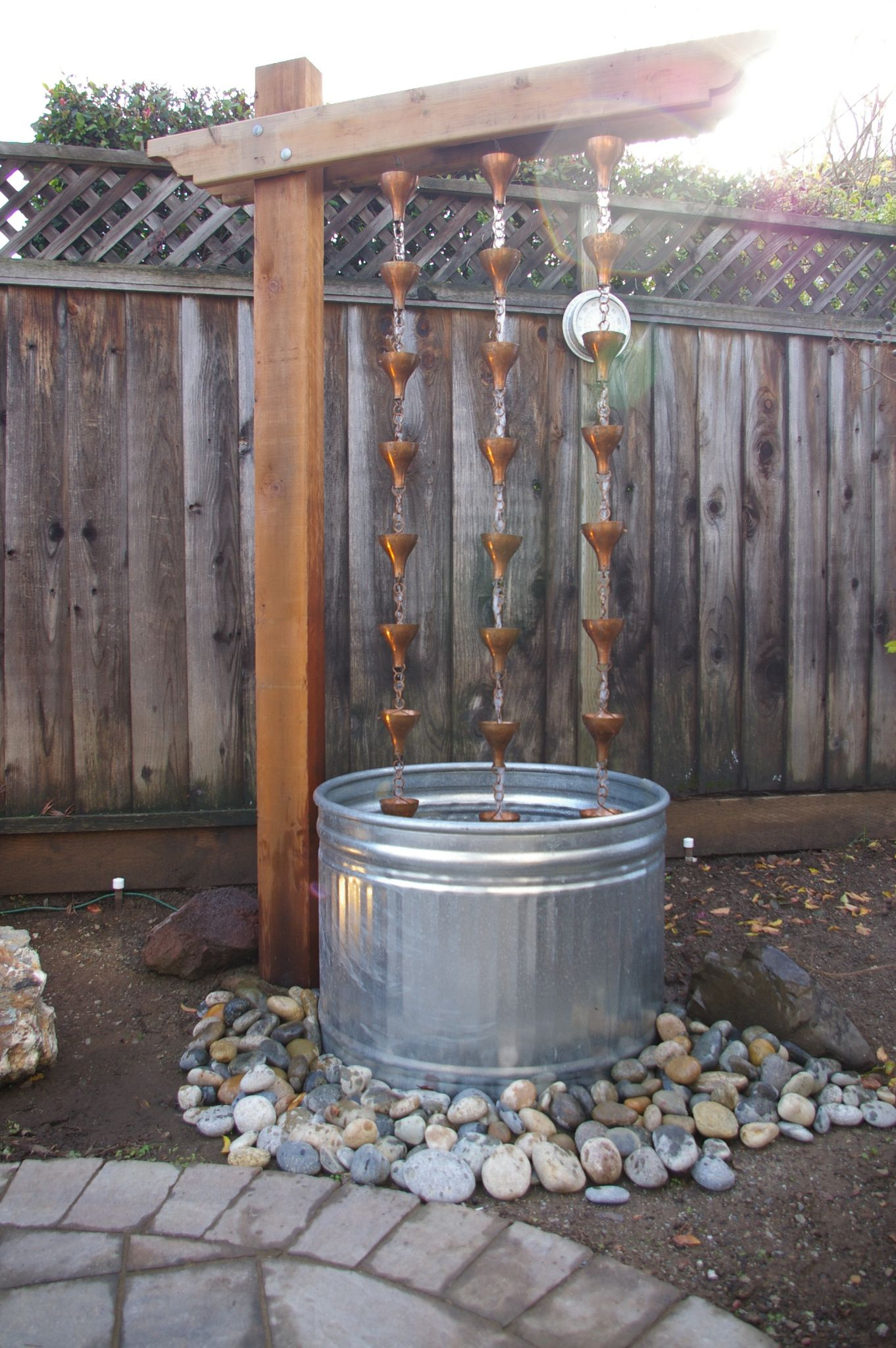 Water Fountain Rain Chain I Can Work With Thiake It Mine Tutorial