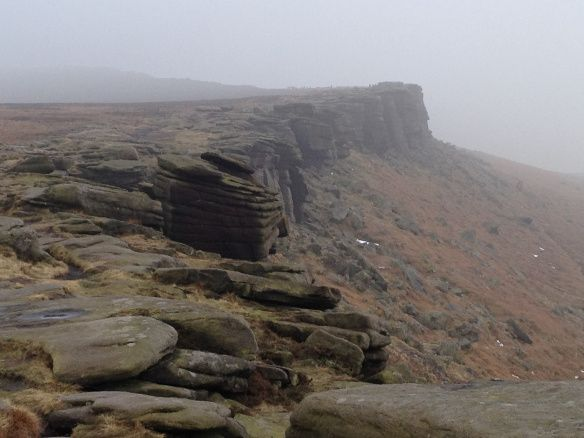The many heads of Stanage Edge