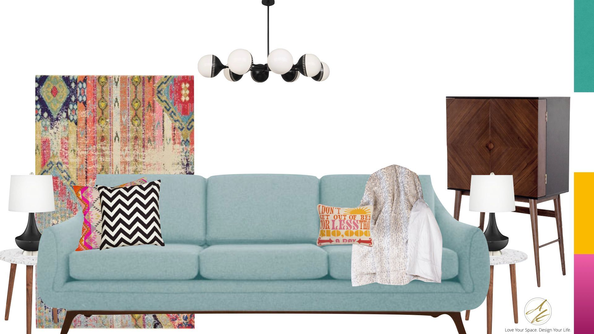 Whatu0027s Your Interior Design Style? Could You Be Whimsical Retro? Take The  Albie Knows