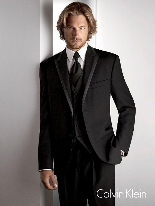 Calvin Klein \'Arden\' tuxedo. What i wore in my wedding. I didn\'t ...