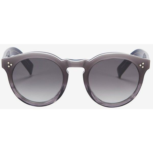 Illesteva Leonard II Grey Ombre Sunglasses (3.090 NOK) ❤ liked on Polyvore featuring accessories, eyewear, sunglasses, glasses, grey, illesteva eyewear, ombre sunglasses, illesteva glasses, grey glasses and ombre glasses
