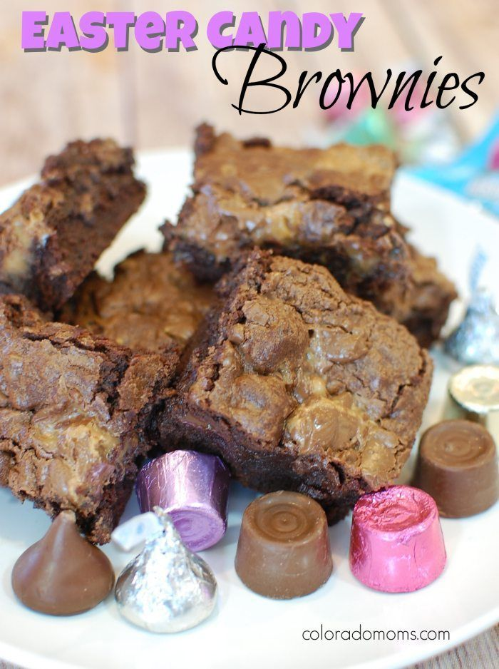 Easter Candy Brownies