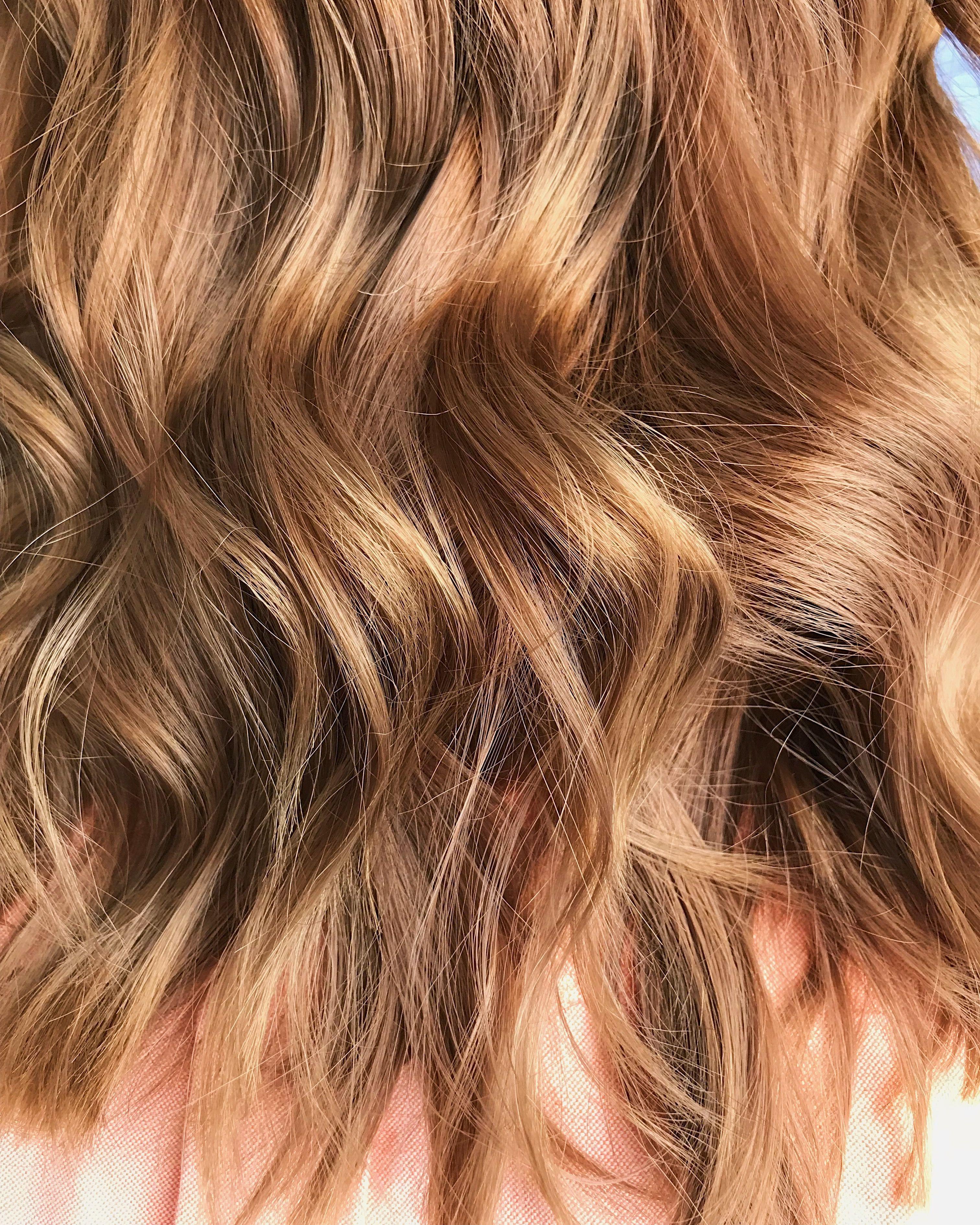 Salted Caramel Blonde Dark Blonde Hair Color Permanent Hair