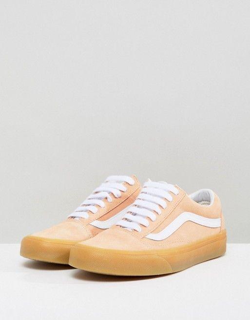 Vans Old Skool Pastel Orange Trainers