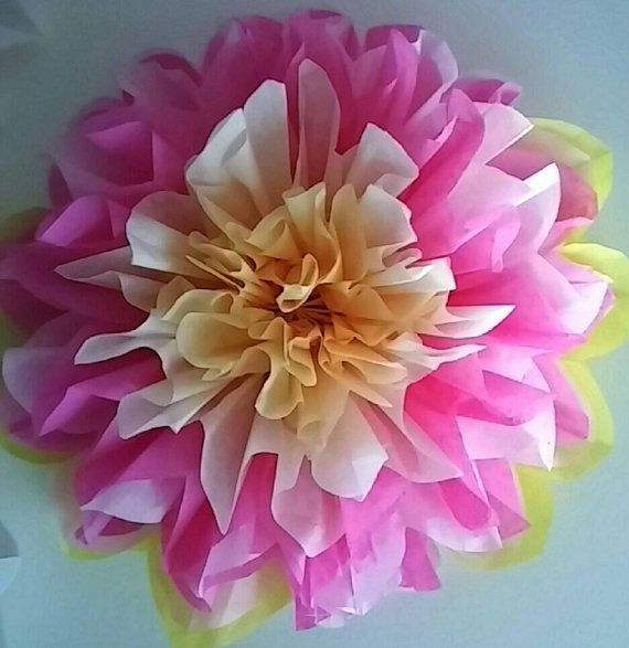 Hey, I found this really awesome Etsy listing at https://www.etsy.com/listing/229360660/5-tissue-paper-pom-flowers-wedding