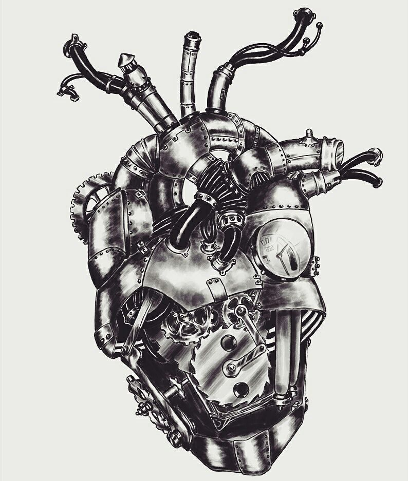 Mechanic Jobs Near Me 2020 Steampunk heart, Heart art