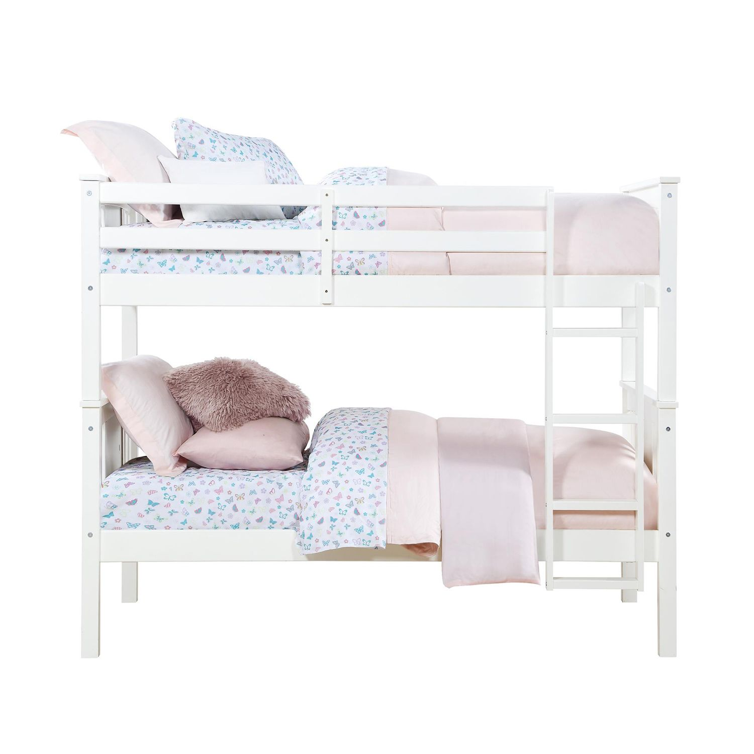 Uptown White Twin Bed Crate And Barrel With Images Kids Twin