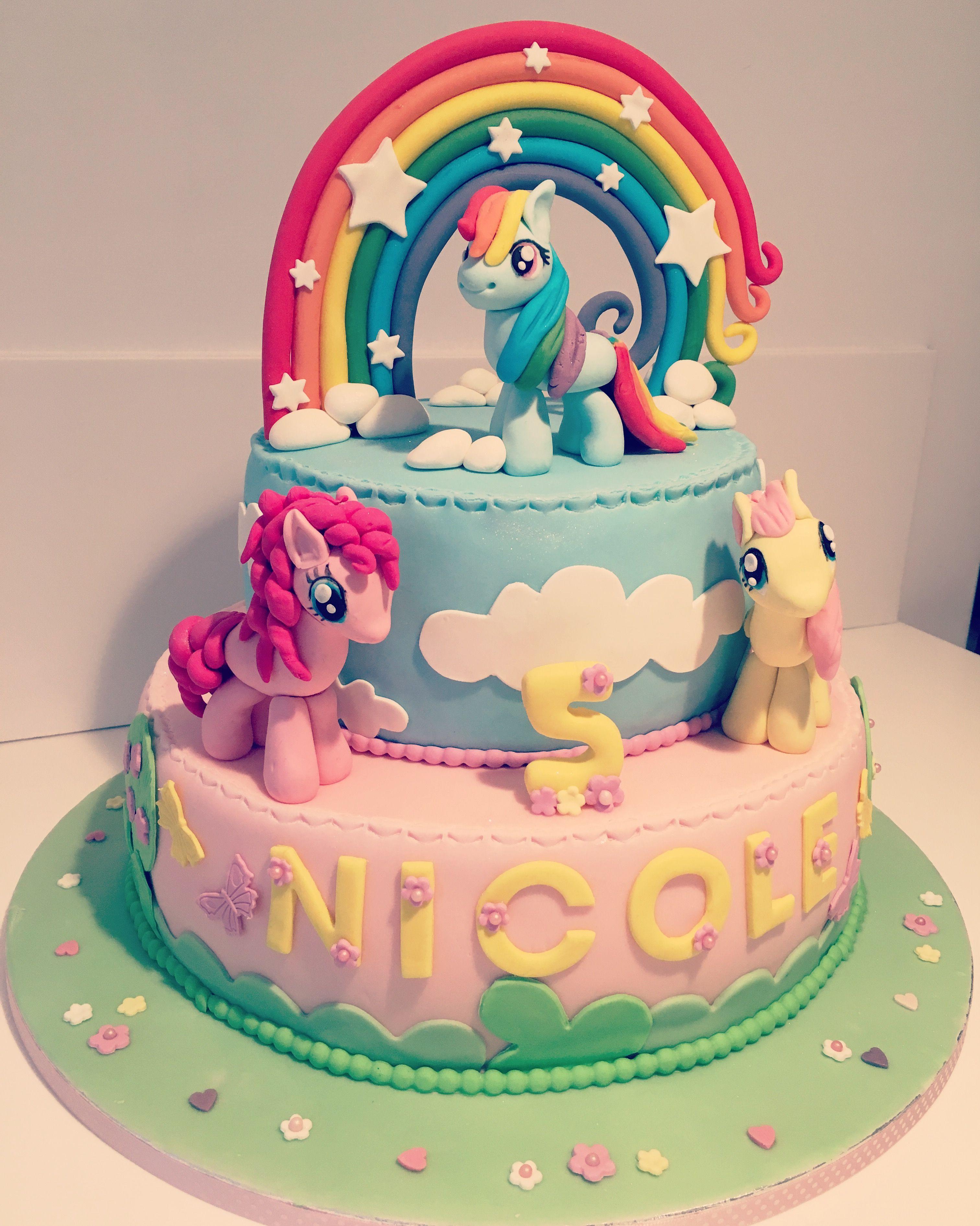 My Little Pony Cake Little Pony Cake My Little Pony Cake