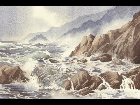 Painting The Sea By Peter Woolley Dvd Trailer Youtube Pinturas