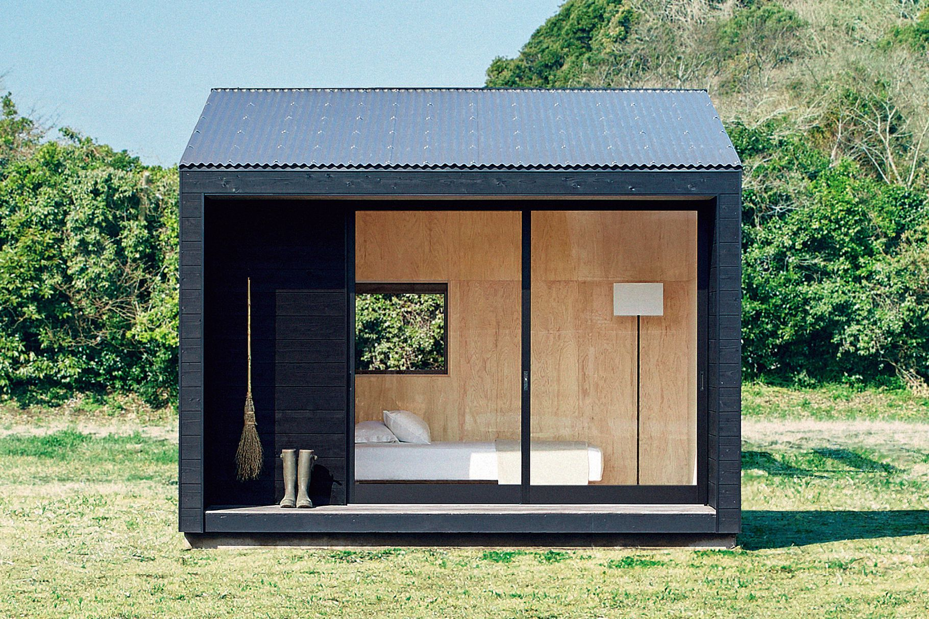 Muji Hut Tiny House Is Now On Sale In Japan For 26k Curbed In 2020 Muji Hut Tiny House Design Prefab Cabins