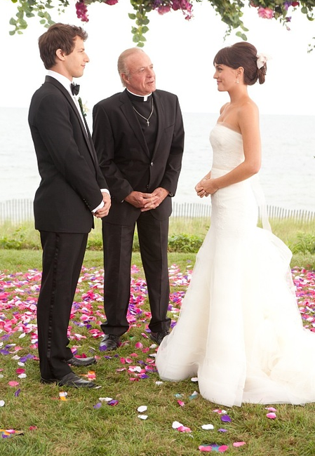 Leighton Meester And Thats My Boy Vera Wang Dress In Loveee