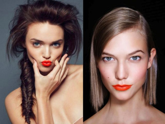 finding the right orange lipstick for you