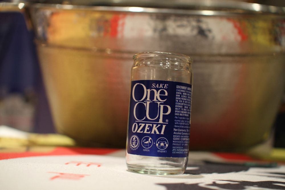 Ozeki One Cup - easy to serve, easy to use  | Food Events