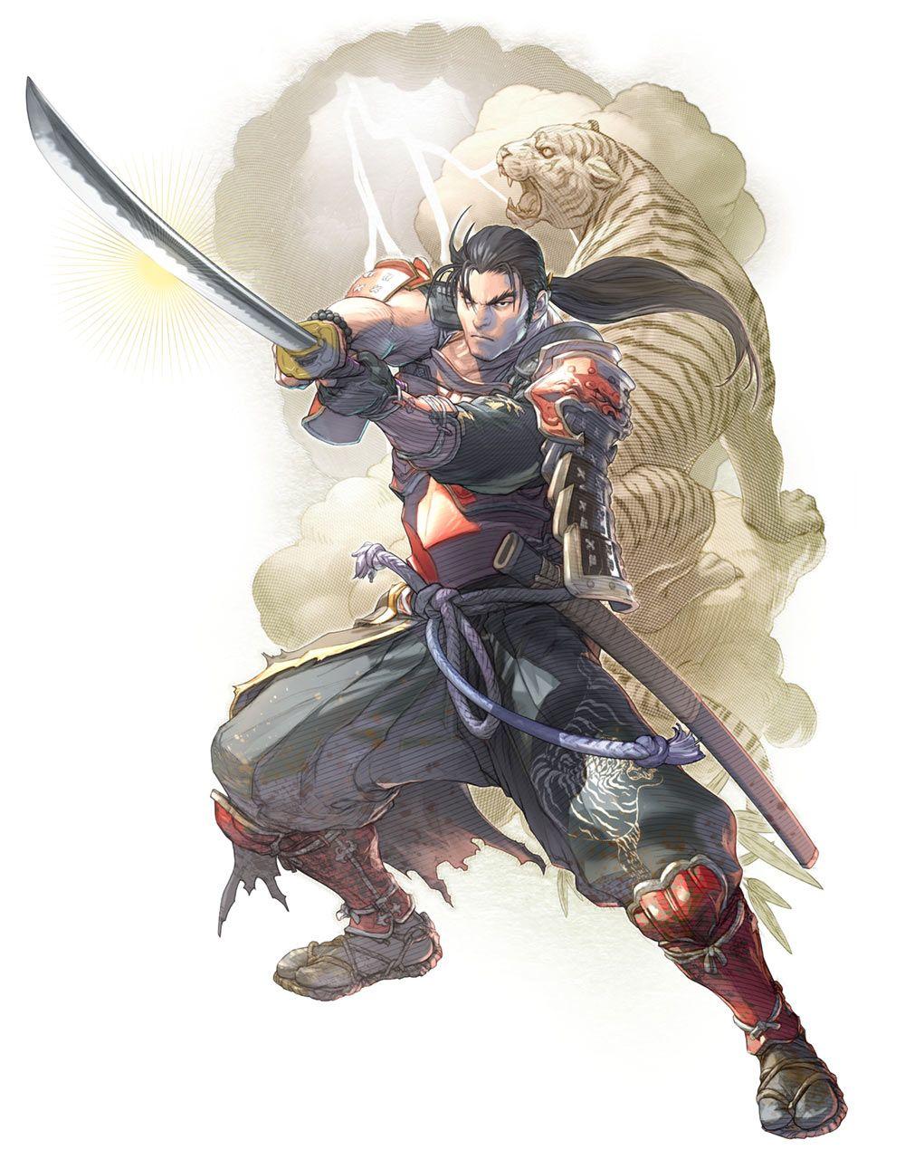 Heishiro Mitsurugi From Soulcalibur Vi Arte Samurai Arte