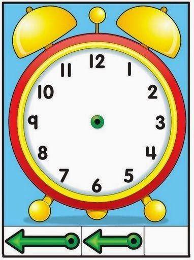 Como Enseñar A Leer El Reloj A Los Niños Aprender La Hora Actividades De Aprendizaje Actividades Escolares
