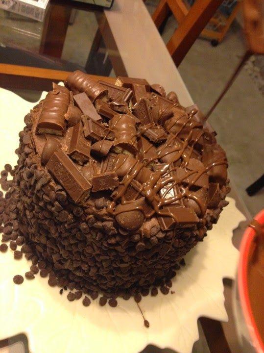 Me Encanta el Chocolate: Super Torta de Chocolate con