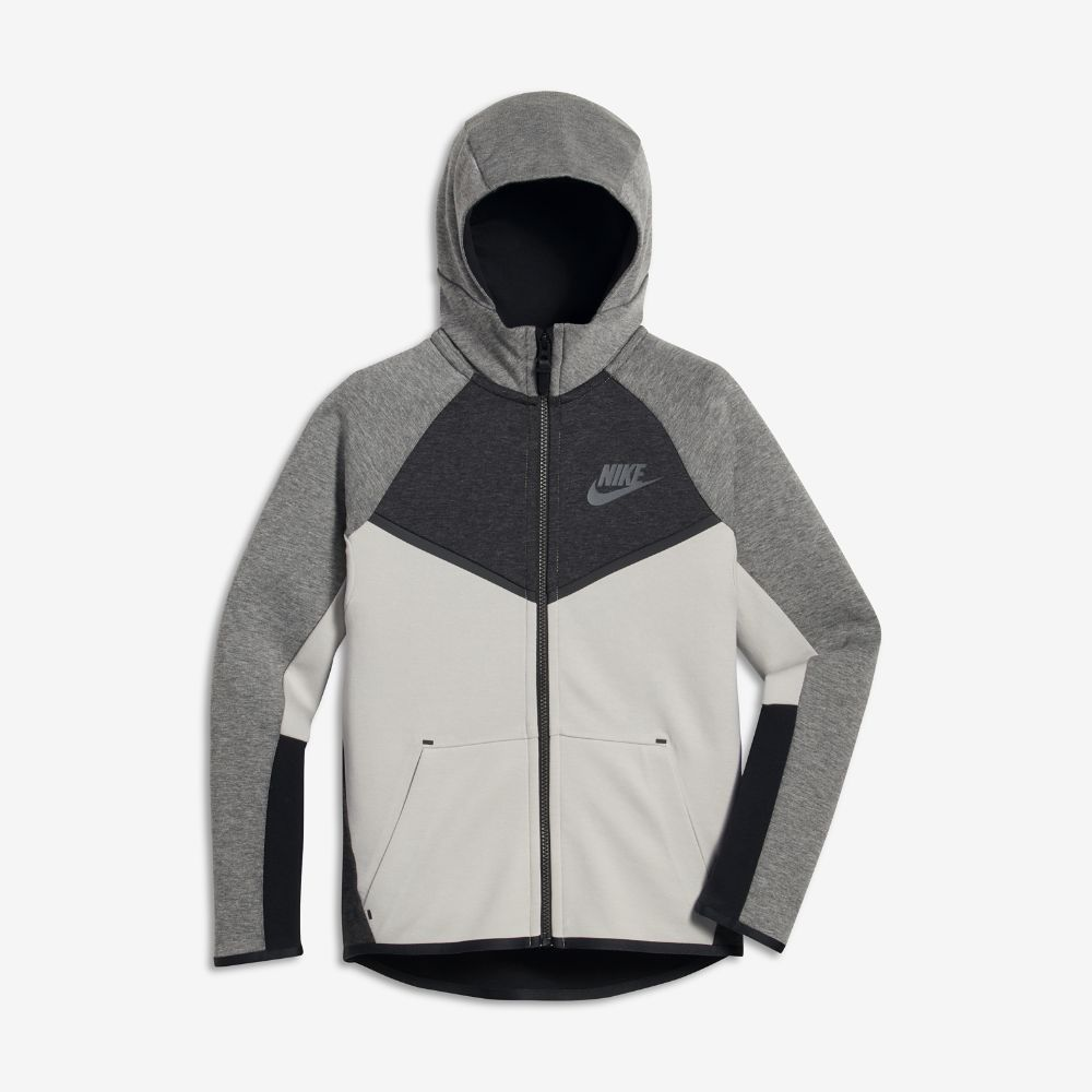 99f330350dea Nike Sportswear Tech Fleece Windrunner Big Kids  (Boys ) Full Zip Hoodie  Size
