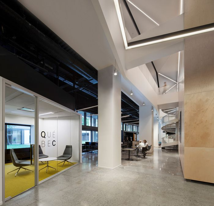 Interior Design Office Montreal: Office Tour: Espace CDPQ Offices – Montreal