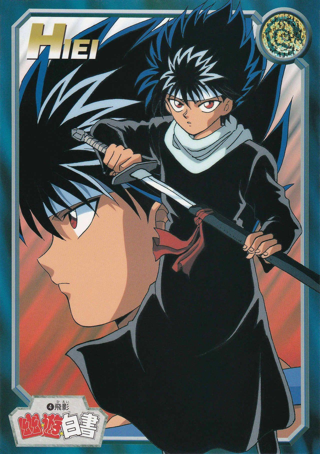 yu yu hakusho cards Tumblr Anime, Anime memes funny