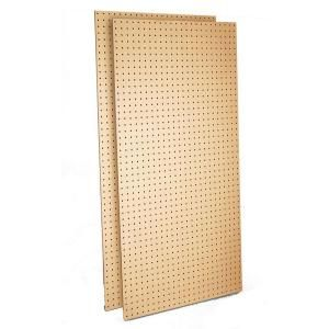 Triton Products Wood Pegboard 2 24 In W X 48 In H X 1 4 In D