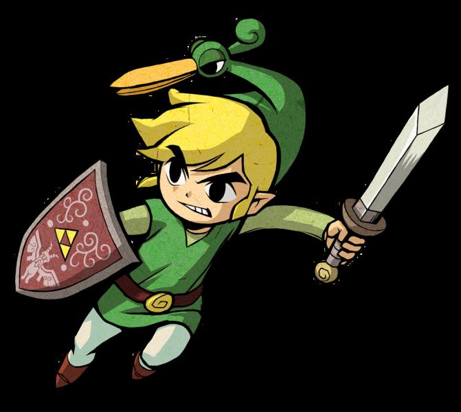 Zelda Dungeon Gallery Legend Of Zelda Cartoon Character Design The Minish Cap