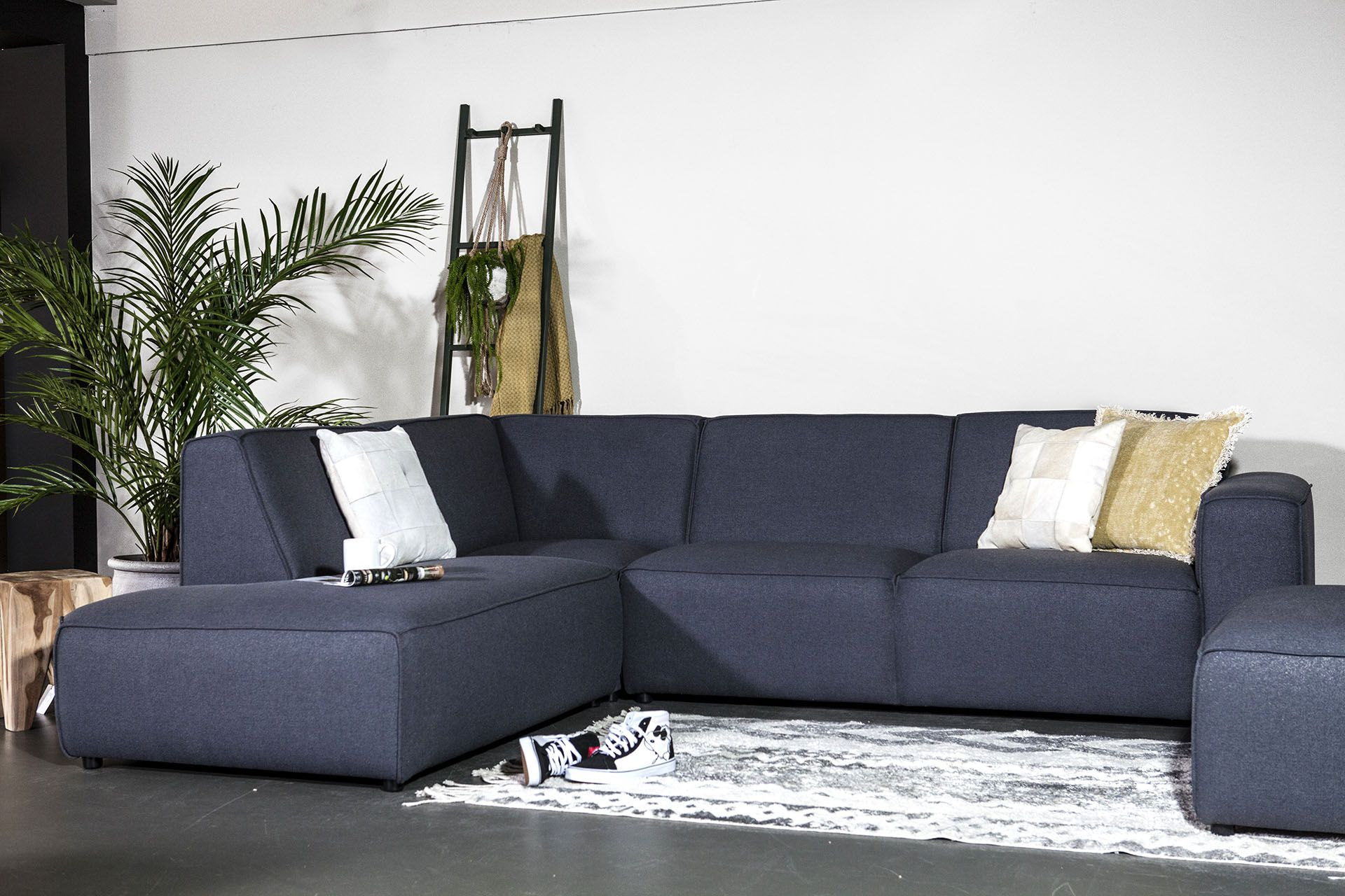 Kunst Leer Hoekbank Zwart.Amarillo Sevn Thuis Woonkamer Ideeen Voor Thuisdecoratie