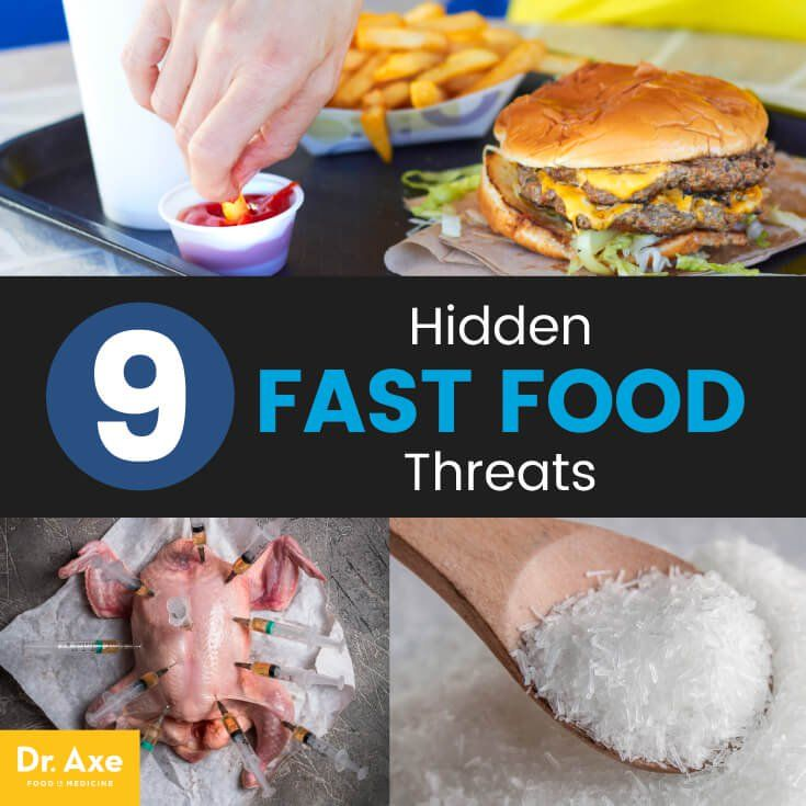 the dangers of eating fast food