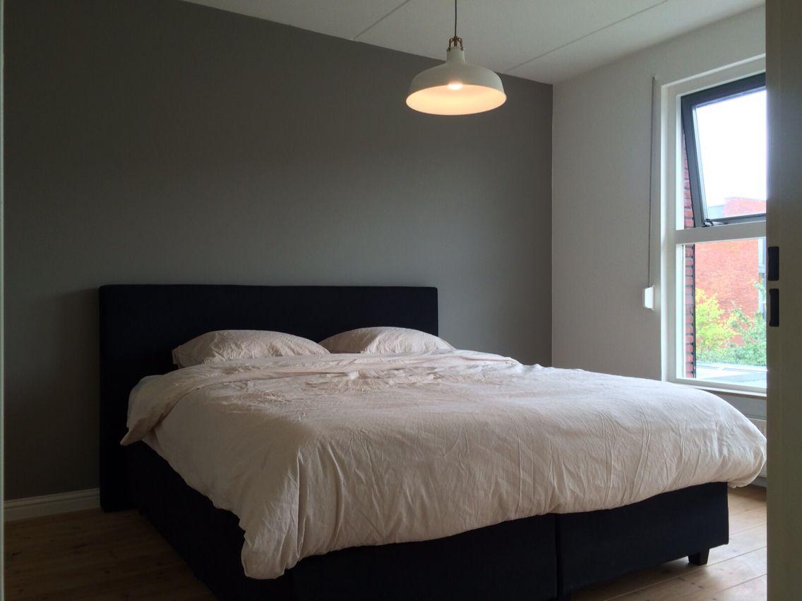 Slaapkamer kleur muur Flexa Authentic Grey